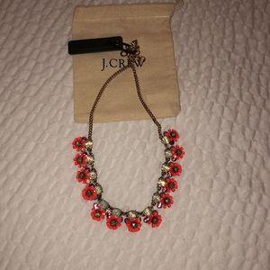 J.Crew coral necklaces